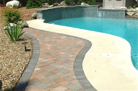 Patio Pools by Patios And Pools Green Yards Stonescapes