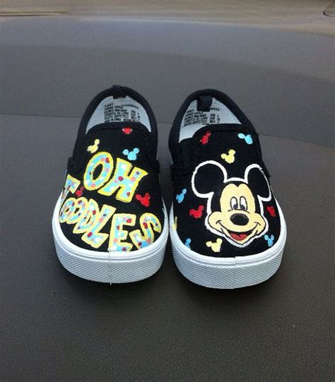 mickey mouse shoes mickey mouse painted shoes halo house shoes