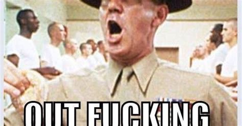 Full Metal Jacket Meme - r lee ermy as gunnery sergeant hartman from full metal
