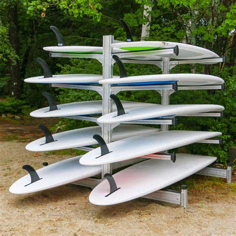 commercial heavy duty aluminum storage racks for kayaks