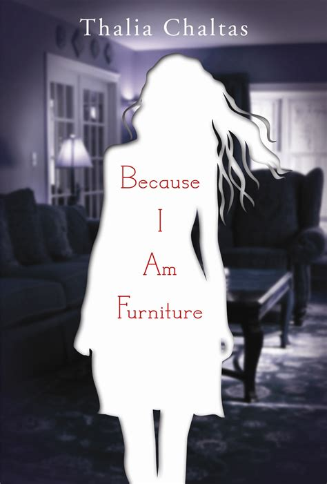 Because I Am Furniture why verse novels can be about anything by stasia ward