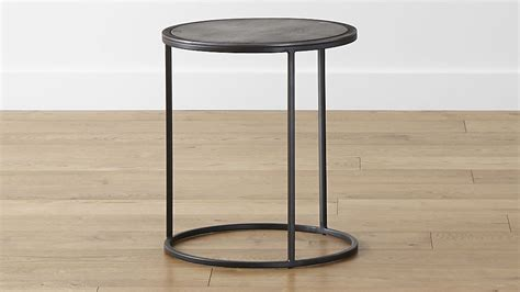 small accent table knurl small accent table crate and barrel