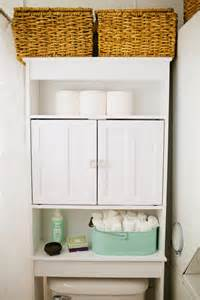 Bathroom Storage Ideas Over Toilet by 17 Brilliant Over The Toilet Storage Ideas Diy Fixated