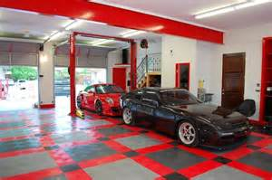 cool garage designs racedeck garage flooring ideas cool garages with cool cars too traditional garage and shed