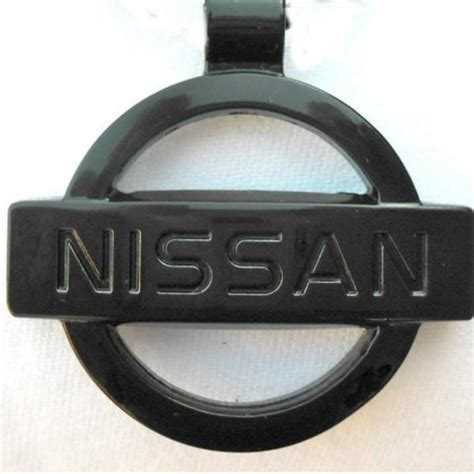 nissan black logo nissan black logo necklace pendant mirror dangler