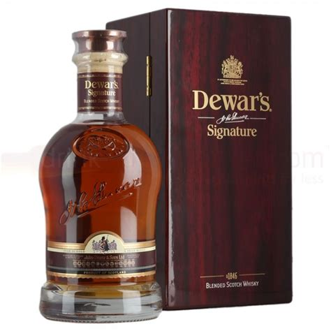 dewars signature whisky 70cl drinksupermarket