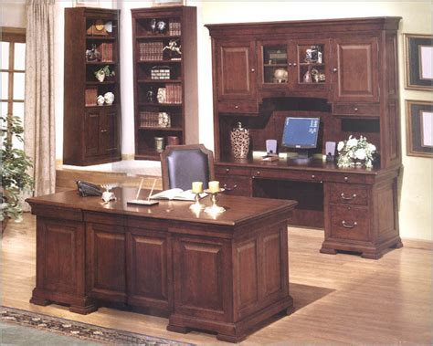 winners only executive home office set ridge wo
