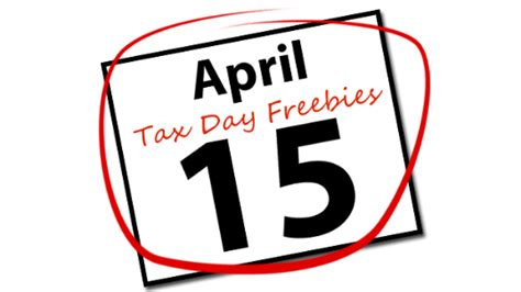 Free Tax Day Giveaways - 2013 tax day freebies and deals frugal philly mom blog deals events calendar