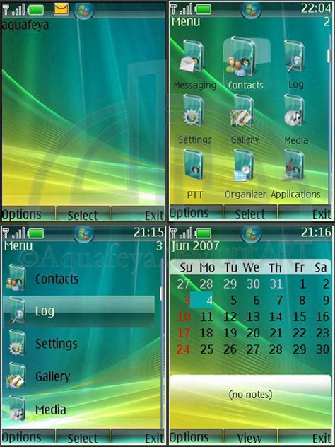 nokia themes windows vista vista nokia theme s40 by aquafeya on deviantart