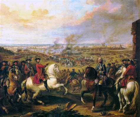 To A King By Labohemian war of the austrian succession