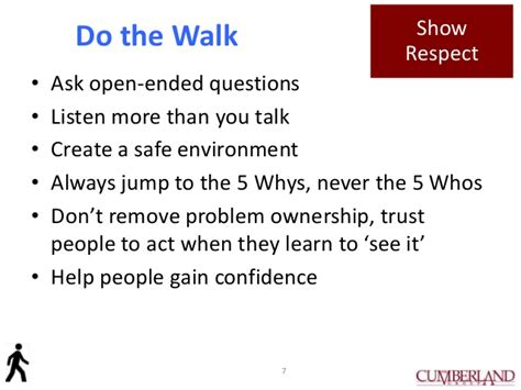 Is The Open Mba Respected by Walk The Gemba To Improve Your Leadership Abilities