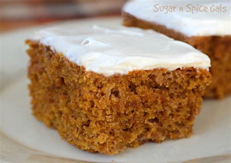 cream cheese pumpkin bars sugar n spice gals