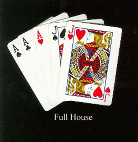 full house cards flush