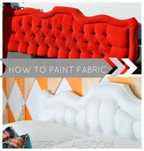 how to paint fabric vintage revivals the inspired room