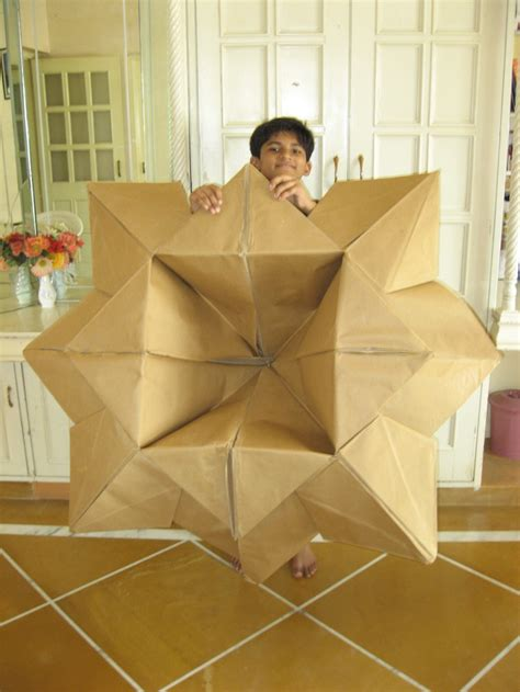 Large Origami - big origami paper flower