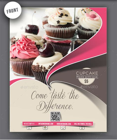 Cake Sale Flyer Template Free