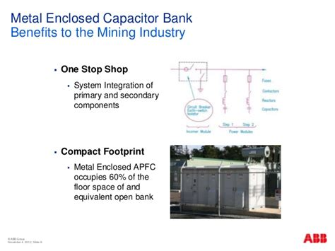 capacitor bank inrush reactor abb the importance of power quality in mining by rob symonds