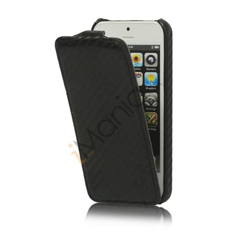Slim Carbon Iphone 5 slim iphone 5 lodret carbon fiber l 230 der flip cover