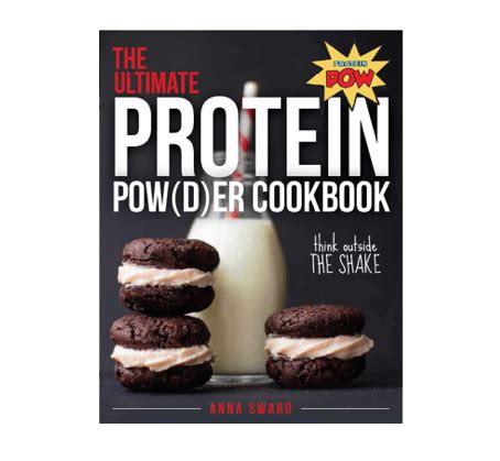 the ultimate protein powder cookbook a giveaway - Protein Powder Giveaway
