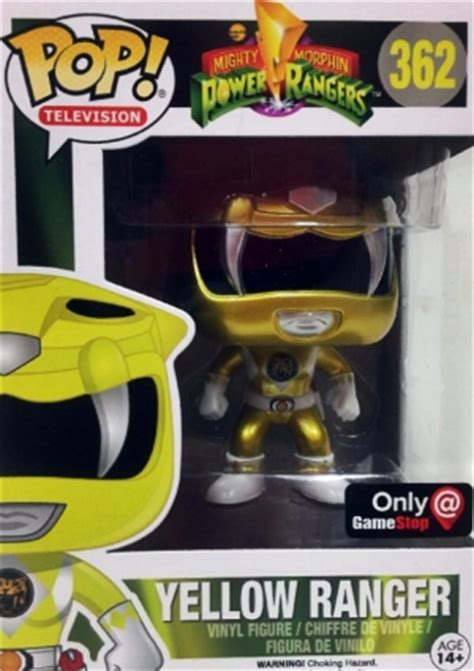 Funko Pop Original New Power Rangers Yellow Ranger funko pop power rangers checklist visual guide set list exclusives