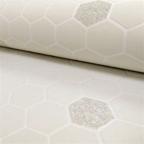 vinyl wallpaper bathroom rasch honeycomb hexagon pattern glitter kitchen bathroom vinyl wallpaper 861921
