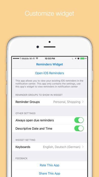 Giveaway Widget App - iphone giveaway of the day reminders widget