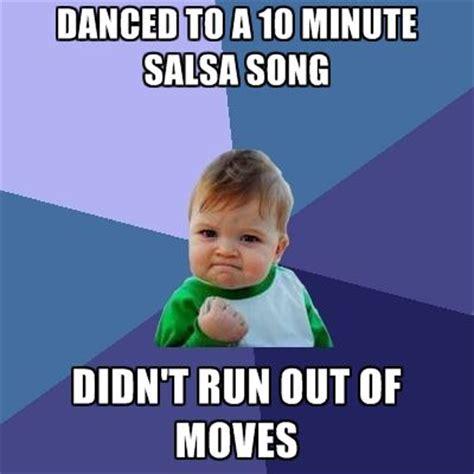 Salsa Dancing Meme - success baby salsa meme success baby pinterest