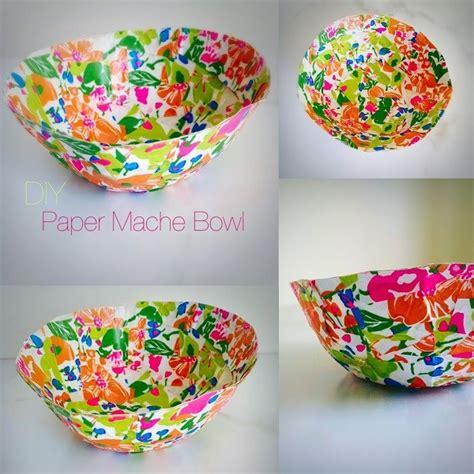 Paper Mache Craft Ideas - diy paper mache bowl ilkasblog