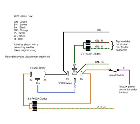 4 way hazard wiring 4 way trailer wiring diagram wiring