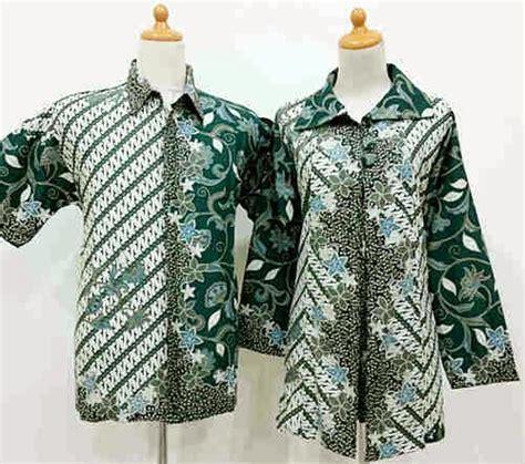 Blus Batik Cap Pola Bahu Tunik 2 batik sarimbit blus krah pola parang batik lestari
