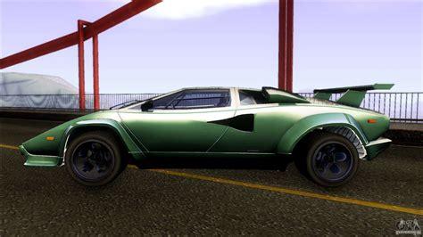 Lamborghini Countach Wheels by Lamborghini Countach Wide Wheels для Gta San Andreas