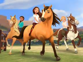 dreamworks animation television s spirit riding free on
