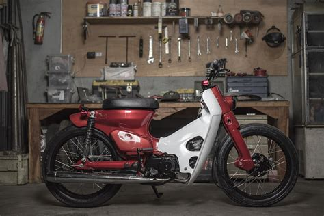 Honda Cycles by Honda Cub By Revolt Cycles Bikebound