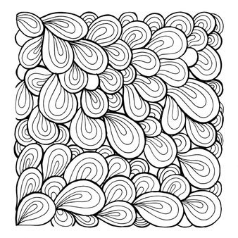 pattern drawing black lineart vectors photos and psd files free download