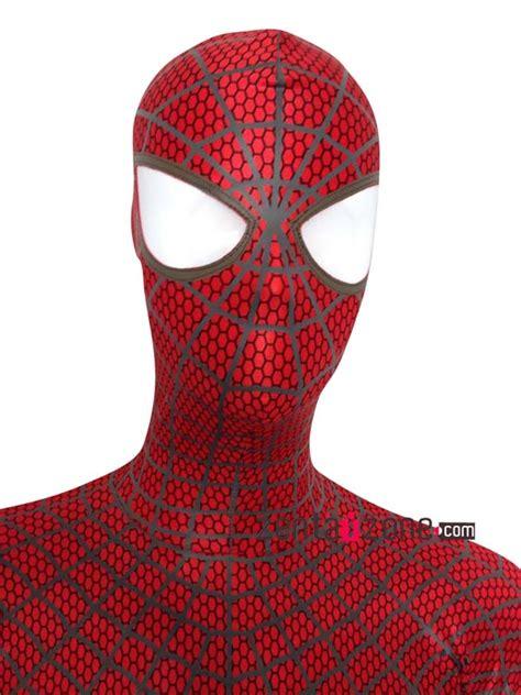 spiderman zentai pattern the amazing spiderman 2 costume 171 zentai zone blog