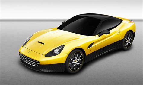 Car Upholstery Scotland A Truly Bespoke Car Ferrari California Inedita Tailor