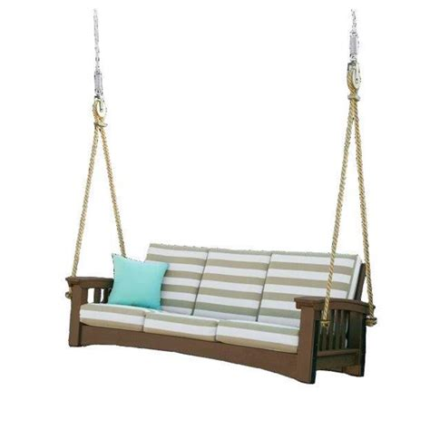 couch swing poly outdoor sofa rope swing
