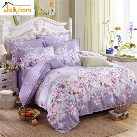 sale home textile 3 4pc bedding sets size for