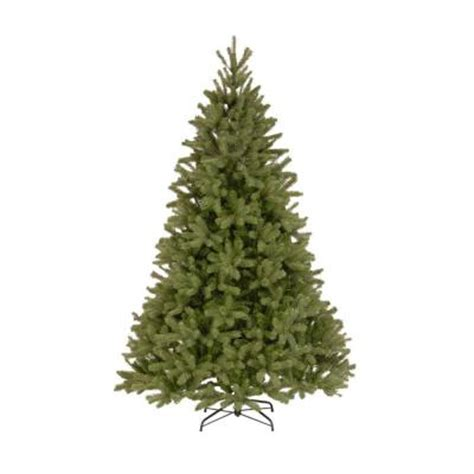 downswept artificial trees national tree company 7 5 ft unlit feel real downswept