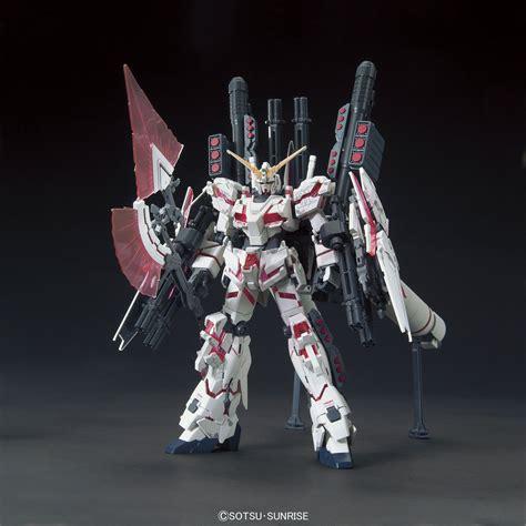 Bandai Gundamuniversal Century 1144 Hg Rx 0 Unicorn Gu Berkualitas 1 144 hguc armor unicorn gundam destroy mode