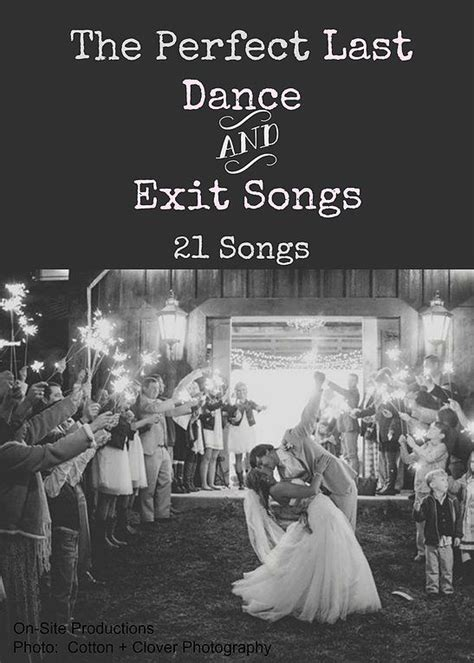 Wedding Exit Song by On Site Wedding Receptions The Last And