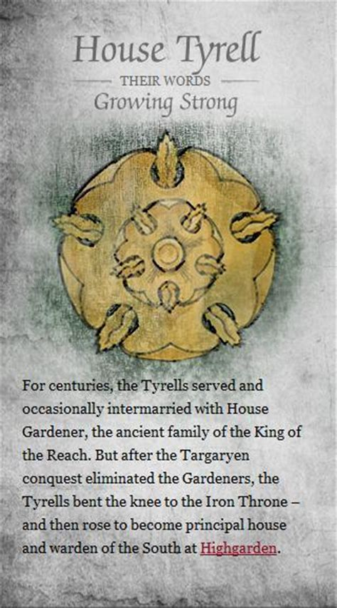 House Tyrell by House Tyrell Of Thrones Photo 21108610 Fanpop
