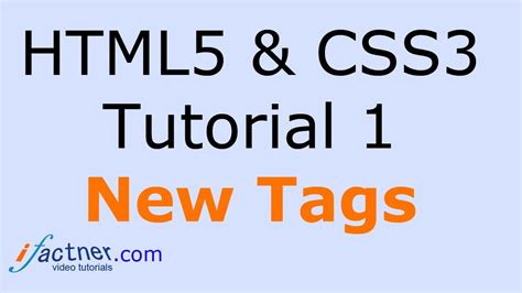 tutorial css3 html5 html5 and css3 tutorial for beginners