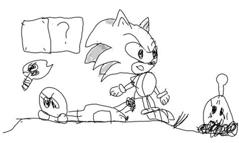 zombie sonic coloring page 100 25 colouring pages