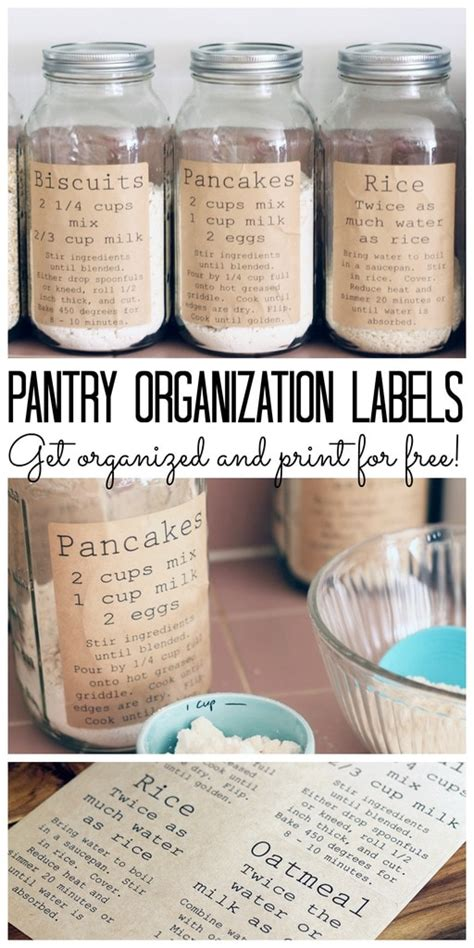 Pantry Organization Labels by Inspiration Monday 1 11 Edition Refresh Restyle