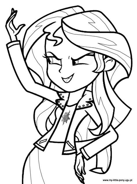 Free Coloring Pages Of Rarity Equestria My Pony Equestria Coloring Pages Free