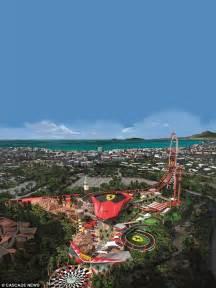 Land Portaventura Europe S Tallest And Fastest Rollercoaster At Portaventura
