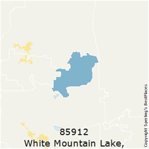 white mountains arizona map best places to live in white mountain lake zip 85912