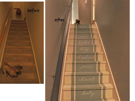Bathroom Color Idea Painted Stairs Stair Makeover