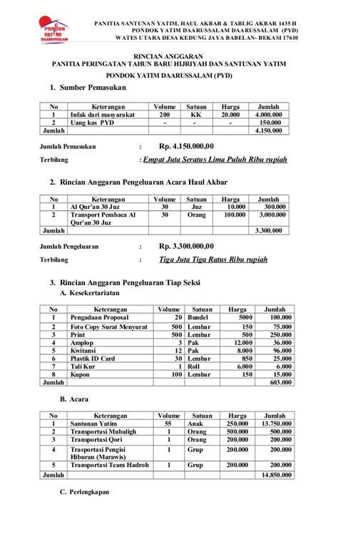 format proposal upi proposal tahun baru islam 1435 h